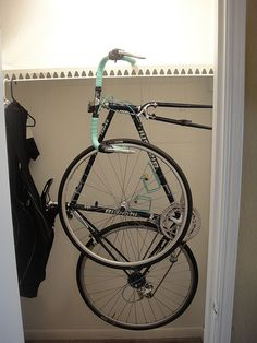 Bike Storage Question .. pics included - Bike Forums