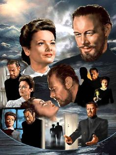 The Ghost and Mrs Muir (1947) Gene Tierney & Rex Harrison (need I say more?) I love this movie!