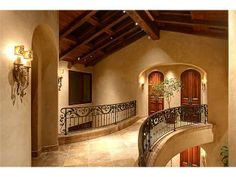 If you are having difficulty making a decision about a home decorating theme, tuscan style is a great home decorating idea. Many homeowners are attracted to the tuscan style because it combines sub… Tuscan Style Homes, Spanish Style Homes, Tuscan House, Spanish House, Tuscan Bedroom, Home Decor Bedroom, Master Bedroom, Tuscan Style Bedrooms, Bedroom Ideas