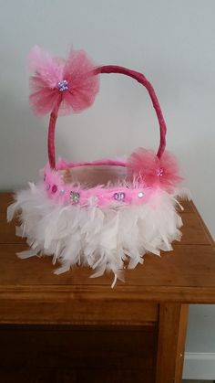 Pink trolls tutu easter basket headband bottle cap by foryourglory hey i found this really awesome etsy listing at https packing ideasbasket ideasbasket weavingeaster negle Images