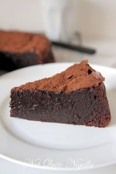 The Ultimate One Bowl Chocolate Cake recipe @ Not Quite Nigella