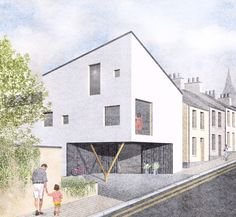 Shane Birney Architects is an emerging architecture practice in Derry ~ Londonderry. We produce thoughtful and beautifully crafted spaces within the built environment. Urban Design Concept, Londonderry, Passive House, Built Environment, New Builds, Sustainability, Ireland, Mansions, Architecture
