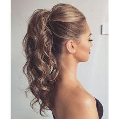 Ponytail Hairstyles Unique See This Instagram Photoelstilespb  818 Likes  Hair Formal