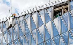 The innovative Closed Cavity Facade system (developed for the JTI Headquarters in Geneva, Switzerland) was developed as a unique unitized curtain wall system...