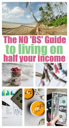 These tips are right on the money! No BS. No hype. Just plain, simple steps you need to take to be able to live on only half of what you earn. SO glad I found this. Read it, you'll love it, too.