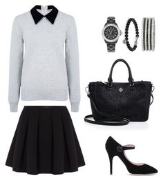"""""""Prepped."""" by marykatetus on Polyvore featuring Polo Ralph Lauren, Edit, Chanel, David Yurman, Rochas and Tory Burch"""