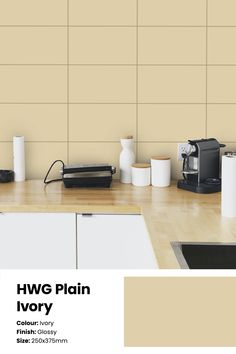 Want your kitchen or washroom to not just become another corner in your lovely home? Get your hands on these gloss ivory ceramic wall tiles with a beautiful glow that works really well for contemporary decor spaces in your home. Serviceable in Southern India Price: ₹41/sq.ft or ₹440/sq. metre. See the tile in your space with the Trialook visualiser tool. #wall #tiles #kitchen #homedecor #bathroom #wallaccent #ideas #tilestyle #minimal Kitchen Wall Tiles, Ceramic Wall Tiles, Kitchen Decor, Buy Tile, Style Tile, Washroom, Contemporary Decor, Your Space, Minimalism