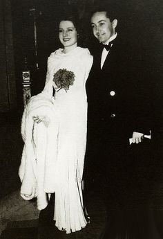 Irving Thalberg and Norma Shearer