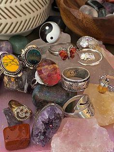 Grunge Jewelry, Funky Jewelry, Hippie Jewelry, Cute Jewelry, Jewelry Rings, Jewelry Accessories, Hippie Rings, Trendy Jewelry, Mode Hippie
