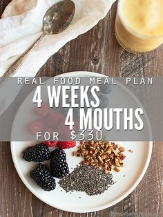 Cheap healthy meal ideas for families looking to eat healthy without spending a lot of money. Includes 28 dinners, plus ideas for breakfast, lunch and dinner. :: DontWastetheCrumbs.com