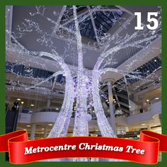 Day 15 - The Metrocentre's Christmas tree of lights, with over 100,000 LED lights!