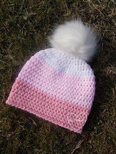 Klubíčkovinky: Návod na kulíška Hand Knitting, Shawl, Diy And Crafts, Winter Hats, Barbie, Crochet Hats, Handmade, Life, Fashion