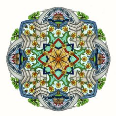 Mandala by CYNTHIA EMERLYE Harold Suttles Colorist