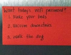 I need to do this:)) HaHa The kids would be so mad at me!