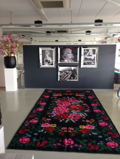 Our #bessarabian rug in the showroom from #funkyxs