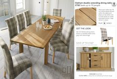 Dining Room Furniture   Kitchen & Dining   Home & Furniture   Next Official Site - Page 46 Extendable Dining Table, Dining Bench, Kitchen Dining, Dining Chairs, Dining Room Furniture, Home Furniture, House, Home Decor, Haus