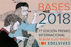 #Convocatoria. VII Premio Internacional de Álbum Ilustrado Edelvives 2018 Info en: http://www.colectivobicicleta.com/2017/12/convocatoria-premio-album-ilustrado-edelvives-2018.html