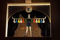 Luis Vuiton. As seen in 30  winning retail window displays: visual merchandising at its best!