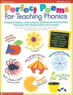 Precision Series Perfect Poems for Teaching Phonics, Grades K-2: Grades K-2
