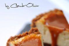 Cheesecake aux speculoos et caramel fleur de sel