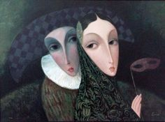 Masquerade by Sergey Smirnov