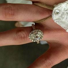 The most gorgeous celebrity engagement rings of 2015, including Witney Carson's oval halo. Click to see all 7!