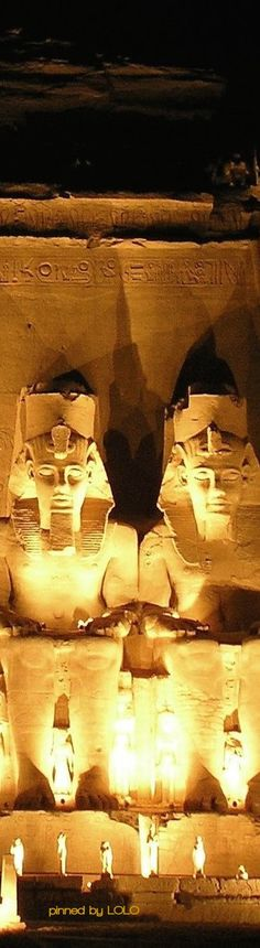 Abu Simbel Temple in Luxor...Egypt