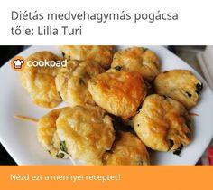Diétás medvehagymás pogácsa Meat, Ethnic Recipes, Food, Essen, Meals, Yemek, Eten