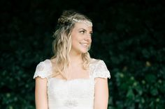 Bride wears a bespoke Bo and Luca Headpiece | Photography by http://shuttergoclick.photoshelter.com/