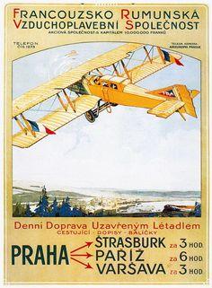 Vintage Plane Posters | VINTAGE AVIATION ART - FRAMED AIRPLANE POSTERS