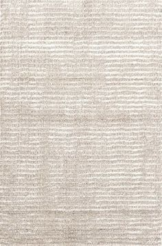 Cut Stripe Ivory Hand Knotted Rug- durable wool meets a bit of shimmer in this striped beauty.