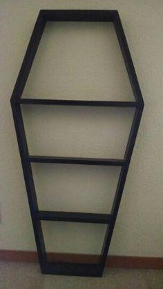 Coffin shelf for sale Pallet Furniture For Sale, Shelves For Sale, Coffin, Shelf, Projects, Home Decor, Log Projects, Shelving, Blue Prints