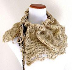 French Vanilla Cowl, Knit Kit | yarnz2GO.com