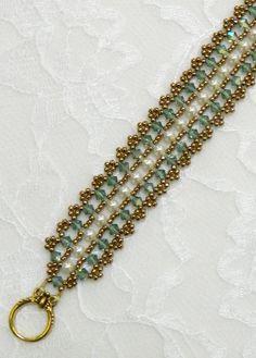 Swarovski Beaded bracelet Beaded jewelry Pearl bracelet