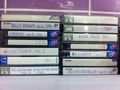 JobLot TEN Used Audio Cassette Tapes Various Music Lamacq and Peel sessions Billy Bragg, Peel Sessions, Elvis Costello, My Love, Music, Ebay, Musica, Musik, Muziek