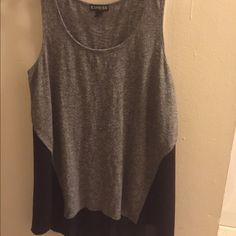 express tank classy tank top. Bought for family photos and only wore once. Really light weight Express Tops Tank Tops