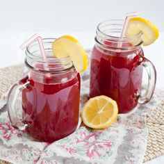 raspberry cordial from Anne of Green Gables.
