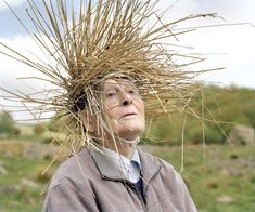 """I'm smitten with """"Eyes as Big as Plates"""" — Riitta Ikonen & Karoline Hjorth's utterly marvelous series, produced """"in collaboration with local senior heroes, sailors, retired agronomes and 90-year old parachuters ...""""   02_eyes_as_big_as_plates_hallvar_II"""