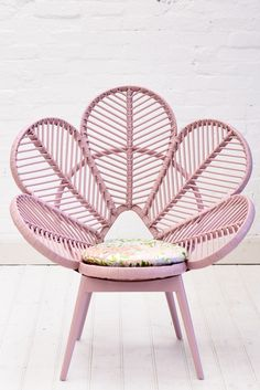 A gorgeous kids rattan chair