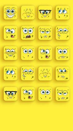 New Spongebob Squarepants Wallpapers Spongebob Iphone Wallpaper, Iphone Homescreen Wallpaper, Emoji Wallpaper, Apple Wallpaper, Wallpaper Iphone Cute, Aesthetic Iphone Wallpaper, Disney Wallpaper, Iphone Wallpapers, Desktop