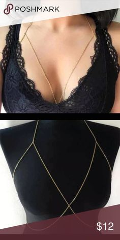 Silver body chain Silver body chain, super cute, adjustable Forever 21 Jewelry Necklaces
