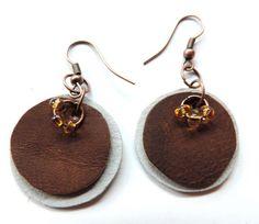 r07 Leather Earrings, Drop Earrings, Jewelry, Art, Fashion, Art Background, Moda, Jewlery, Jewerly