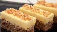 Nepečené be-be řezy s pudinkovým krémem – mojekuchyn Easy Cookie Recipes, Sweet Recipes, Baking Recipes, Cake Recipes, Dessert Recipes, Albanian Recipes, Croatian Recipes, Super Cookies, Cake Cookies