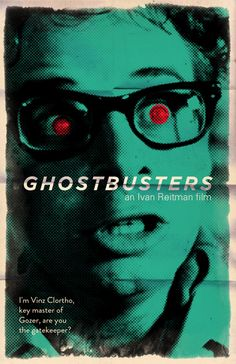 Cool Collection of Fan-Made Movie Poster Designs - Ghostbusters, Caddyshack, Aliens and More — GeekTyrant