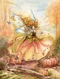 ≍ Nature's Fairy Nymphs ≍ magical elves, sprites, pixies and winged woodland…