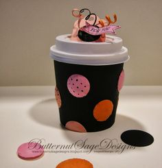 MINI COFFEE CUPS and Stampin' UP! Decorations