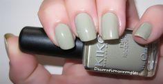Kiko - 349 Ton kaki pastel, ton neutre, discret :)