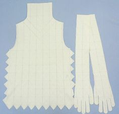 Issey Miyake A.POC blouse and gloves