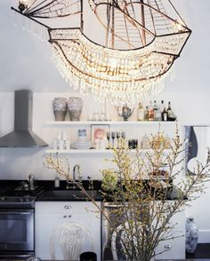 Is That A Sparkling Kitchen Chandelier In The Shape Of A Spanish Galleon? Why…