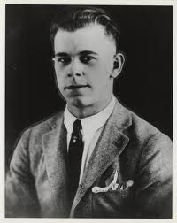 19 year old John Dillinger before he enlisted in the Navy